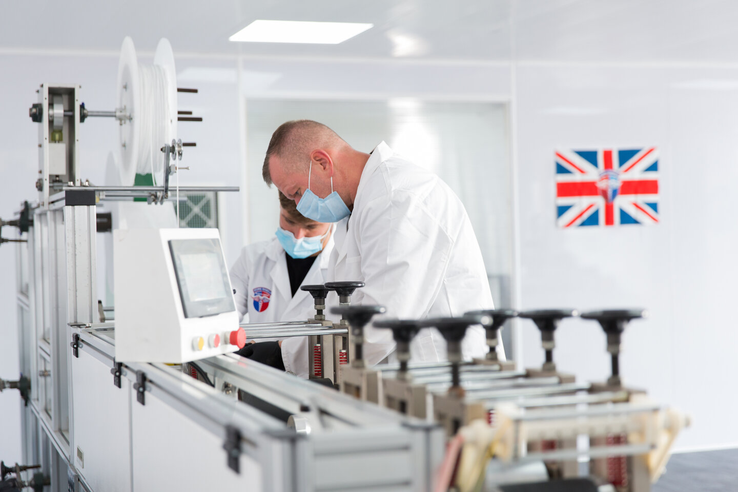 Midlands manufactured PPE removes dependence on imported stock for care homes and NHS