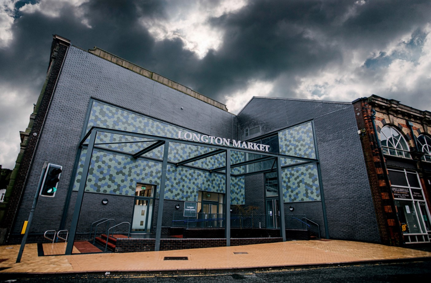 G F Tomlinson restores historical town halls and market hall in City of Stoke-on-Trent