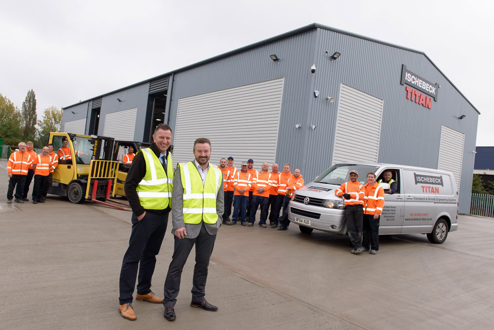 Expansion plans for Ischebeck Titan after major investment