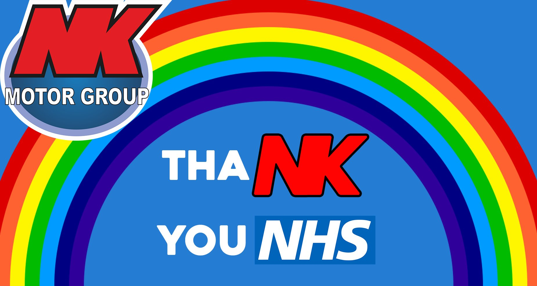 NK Motors says thanks to the NHS