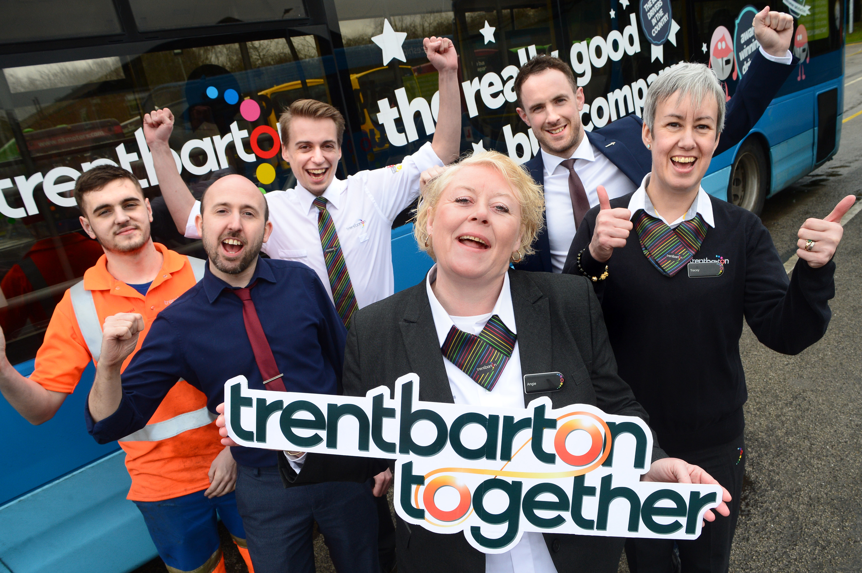 Cash and help from trentbarton together