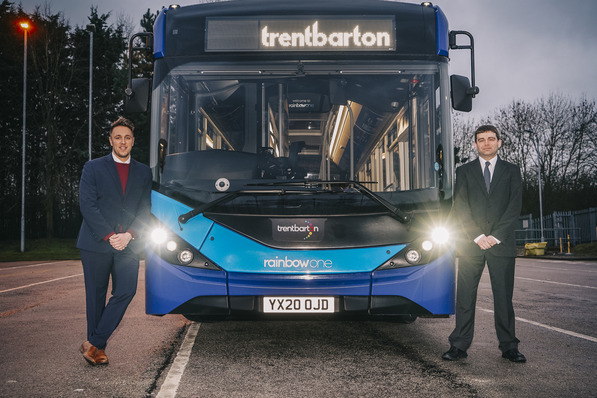 Two new managers welcomed at trentbarton