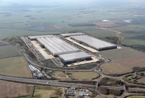JLR names firm to run huge Leicestershire global logistics centre
