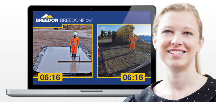 Breedon Group's video goes with the flow