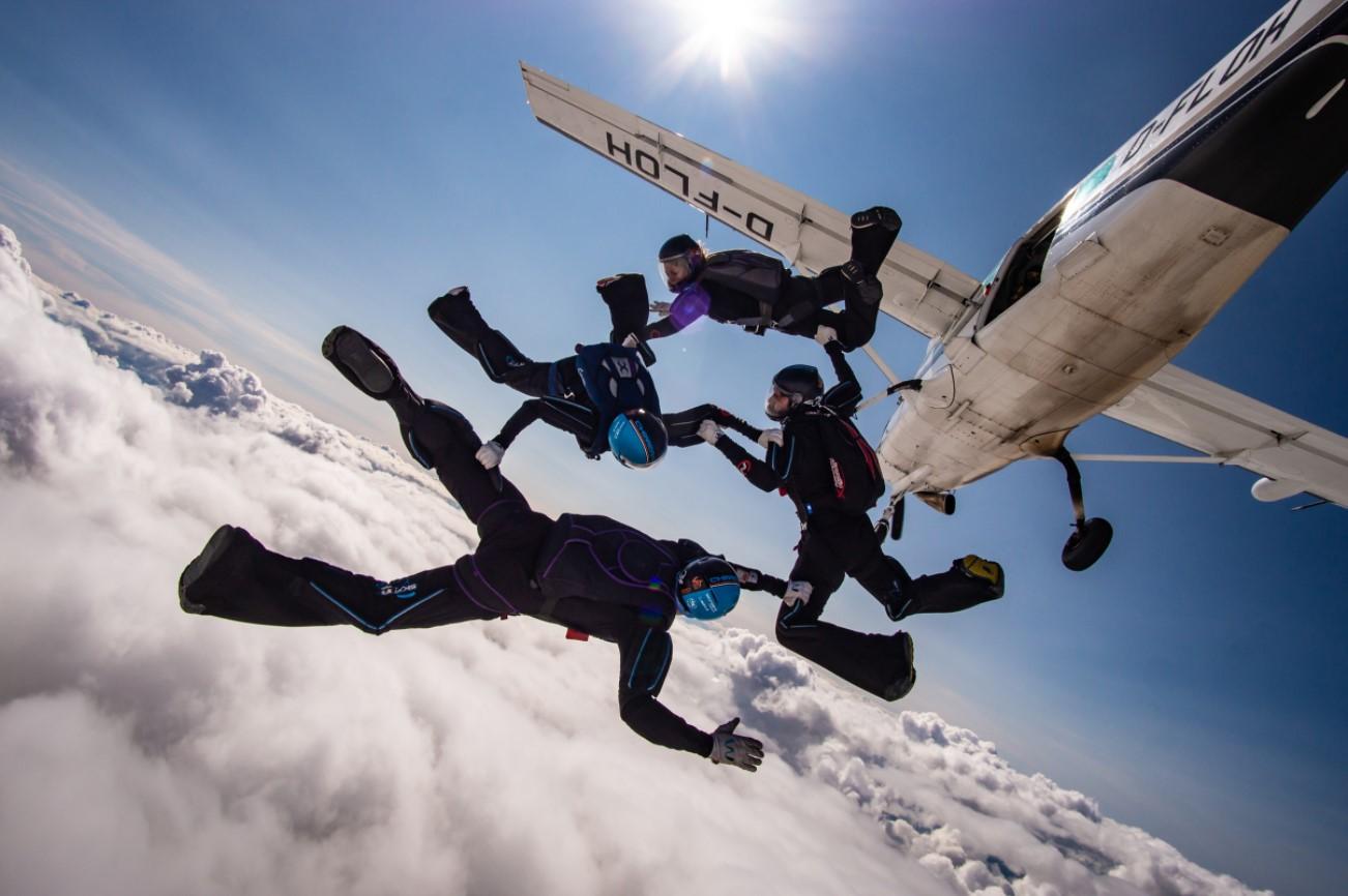 Nottingham Skydiving Centre Soars Post-Lockdown