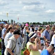 RAF Falcons centenary parachute display to grace Market Harborough next weekend